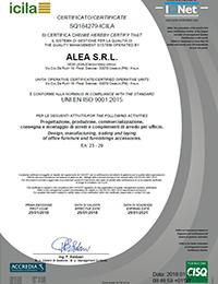 ICILA_UNI EN ISO 9001